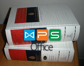 Diccionarios para WPS en español. Logo.