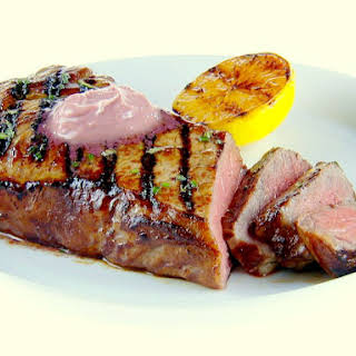 Grilled Swordfish With Rosemary.