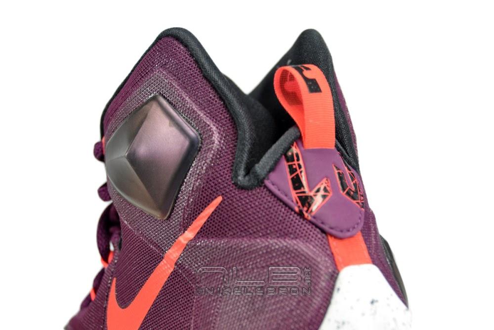 a028c4a0c48fe ... Nike LeBron 13 Mulberry Showcase amp First Impressions ...