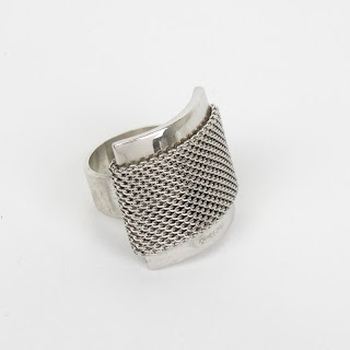 Sterling Silver Pianegonda Ring