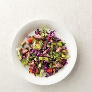Chopped Steak Salad.
