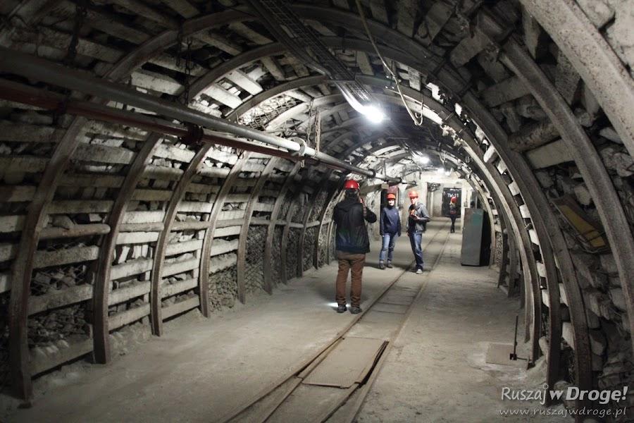 Kopalnia Guido w Zabrzu - podziemia na poziomie 320