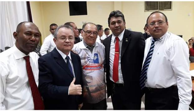 Igor Flávio é escolhido candidato da Asembleia de Deus da cidade....