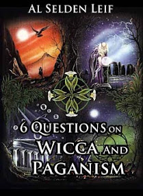 Cover of Al Selden Leif's Book 6 Questions On Wicca And Paganism