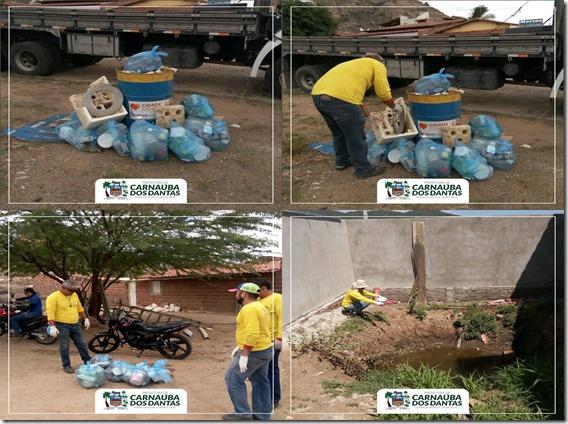 Coleta de Lixo Dengue