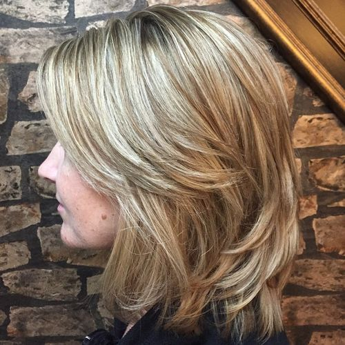 Medium layered universal haircuts to feature you 11