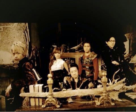 Elenco principal de GARO ~Yami wo Terasu Mono~: Ikeda Junya (池田 純矢), Nanri Miki, Otomo Kouhei (大友 康平), Kuriyama Wataru (栗山 航) e Aoki Tsunenori (青木 玄徳)