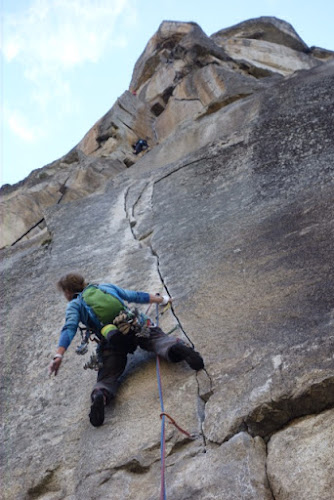The finger 5.11c pitch