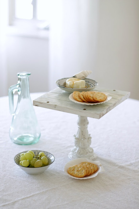 Coastal Decor Weathered Beachy Tray