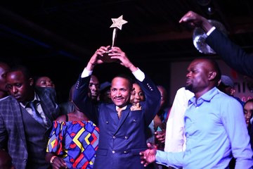 Babu Owino awarded as the best mp 2019.