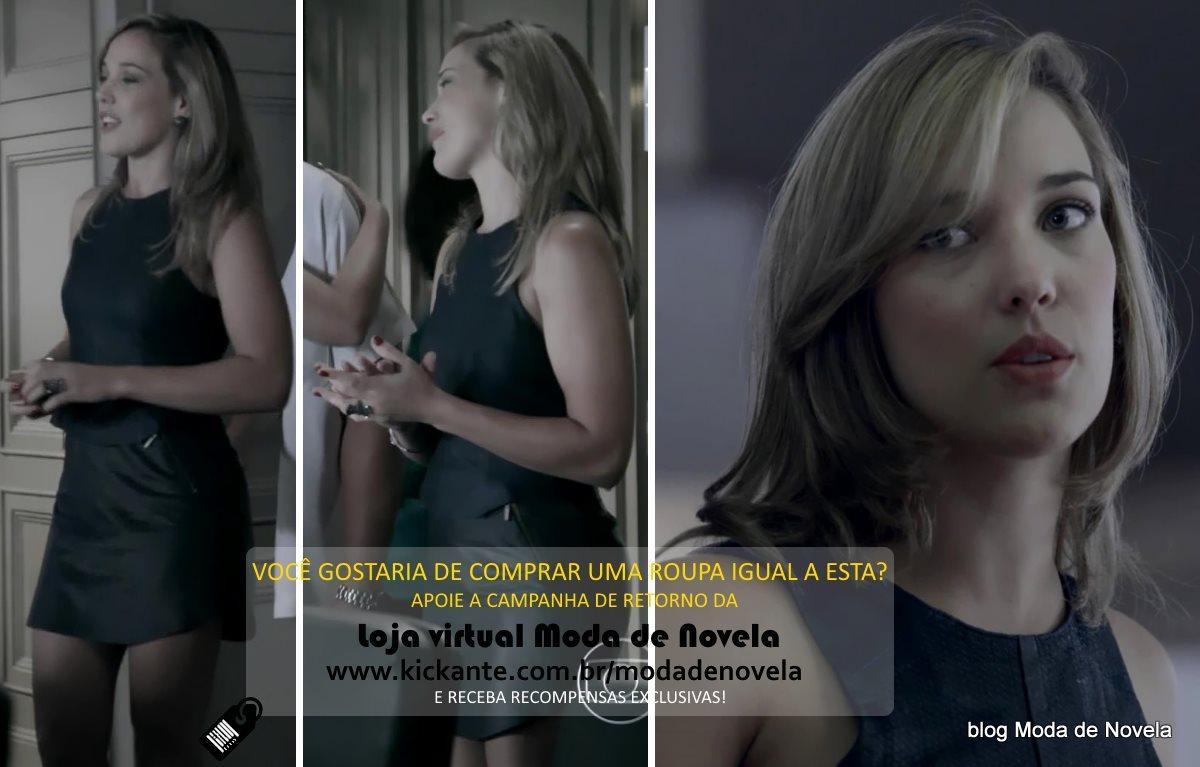 moda da novela Império, look da Amanda dia 27 de janeiro de 2015