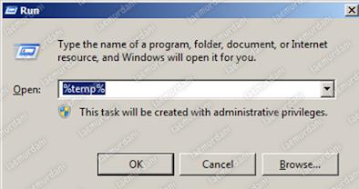 caramenghapus file sampah di laptopwindows 10