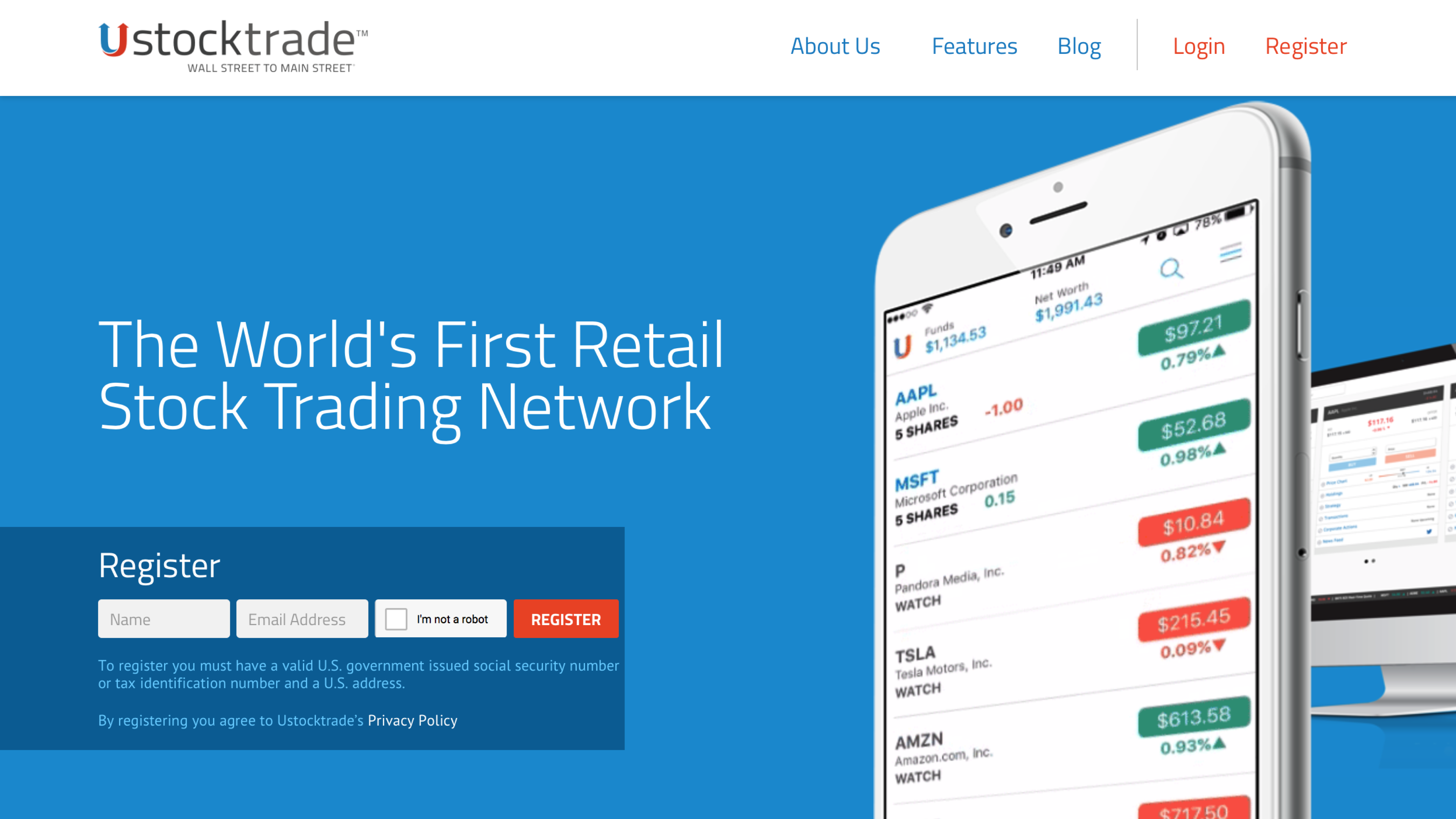 Trading with UstockTrade Blog | iTwitsTrade