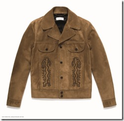 COACH x Ketih Haring Suede Jacket in Sand (29602)