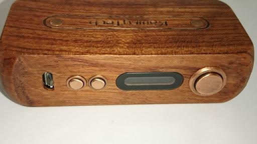 DSC 2220 thumb%25255B2%25255D - 【MOD】「Kamry 80W UTC ウッドBOX MOD」驚異のカムリー超コンパクト軽量MODレビュー!!軽いだけ、、いやそんなはずは、、【電子タバコ/軽量MOD】