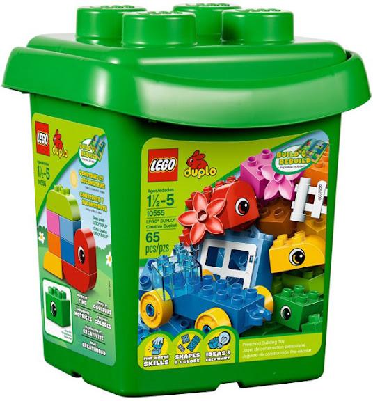 LEGO® DUPLO® 10555 Creative Bucket – Thùng xếp hình sáng tạo