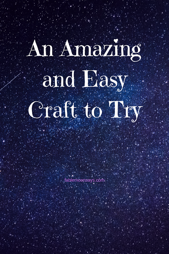 I Found an Amazing and Easy Craft to Try