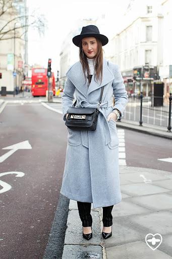 Lauren Luxenberg; fashion marketing; Wilfred hat; Theory coat; GVGV rollneck; ASOS jumpsuit; Saint Laurent shoes; Proenza bag;