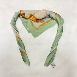 *SALE* Salvatore Ferragamo Silk Scarf