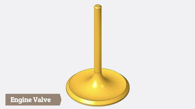 Engine Valve -- Creo Parametric Tutorial