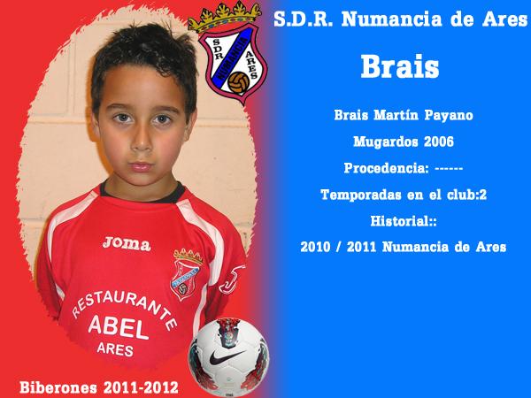 A. D. R. Numancia de Ares. Biberones 2011-2012. Brais