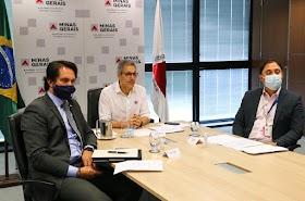 Romeu Zema se reúne com representantes do comércio, bares e restaurantes