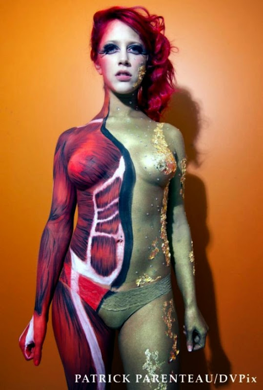 Art World Expo Body Paint  Stella Gorgeous