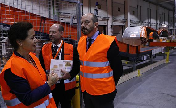 Nuevo centro logístico de TNT en San Fernando de Henares