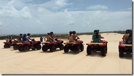 Quadriciclos em Maracajaú