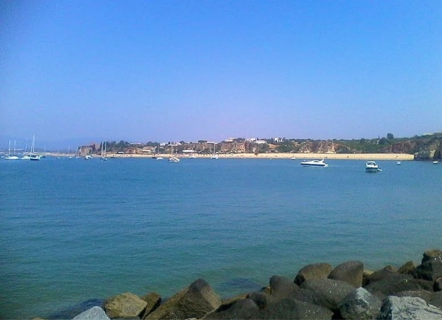 Praia Grande, la playa de Ferragudo