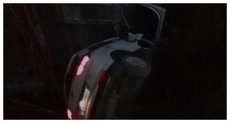 100 की स्पीड में कार चला रहा था MLA का बेटा, 20 फीट गहरे गड्ढे में पलटी