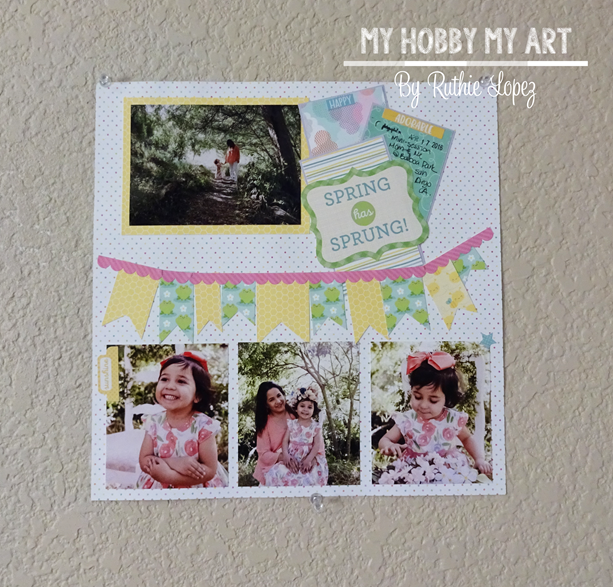 Clear Scraps, Clear acrylic Layout, Doodlebug,  Ruthie Lopez