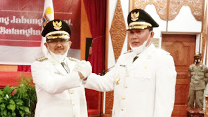 Bupati-Wakil Bupati Tanjung Jabung Barat Priode 2021-2024 Resmi Dilantik