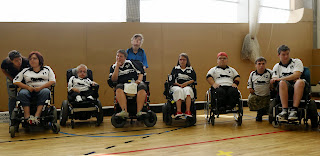 Prague Powerchair hockey tournament 2014