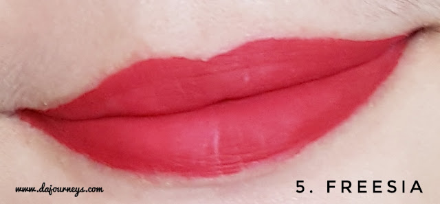 Review Purbasari Hi-Matte Lip Cream Freesia