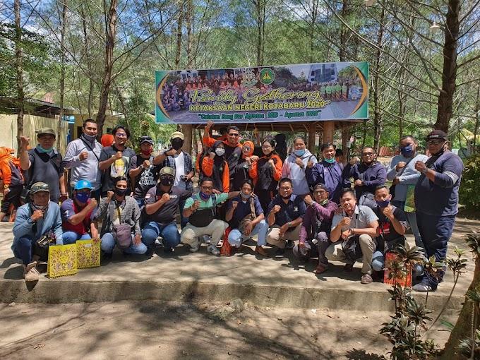 Family Gathering Kejari Kotabaru dan Jurnalis
