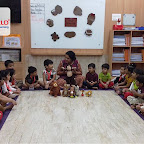 Brown Day Celebration by Nursery Evening Section at Witty World, Chikoowadi (2018-19)
