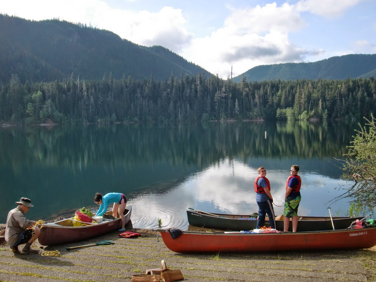 May 2014 Wynoochee Lake Camp/Canoe - CIMG5192.JPG