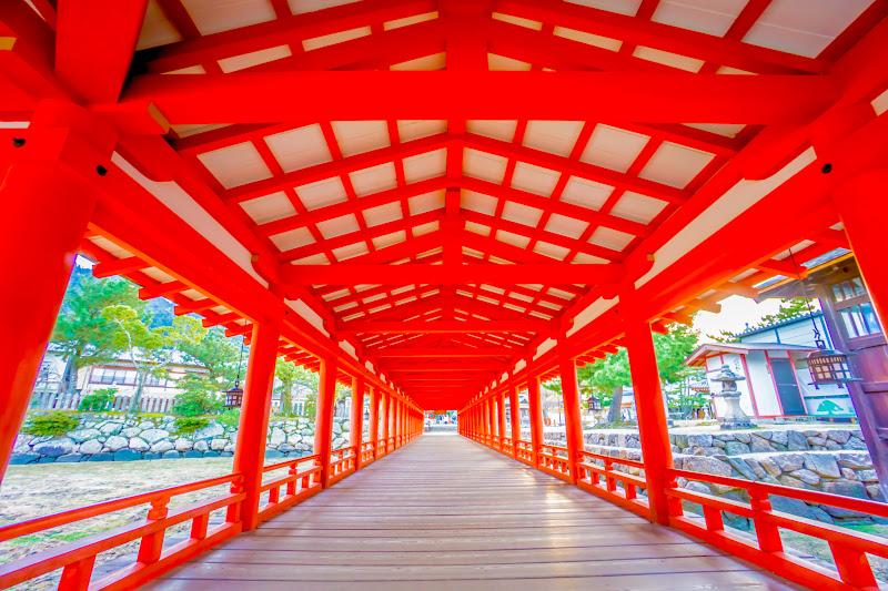 宮島 厳島神社 西回廊 出口2