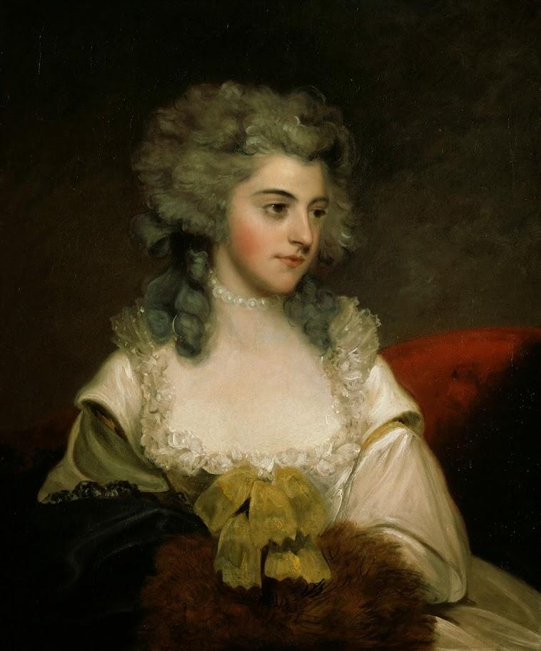 John Hoppner - Susannah Edith, Lady Rawley