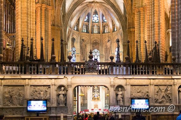 Katedralde Pazar ayini, Barselona