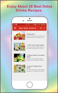 Best Detox Drinks Recipes - náhled