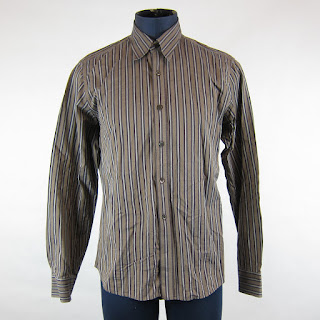*SALE*  Dries Van Noten Striped Oxford Shirt