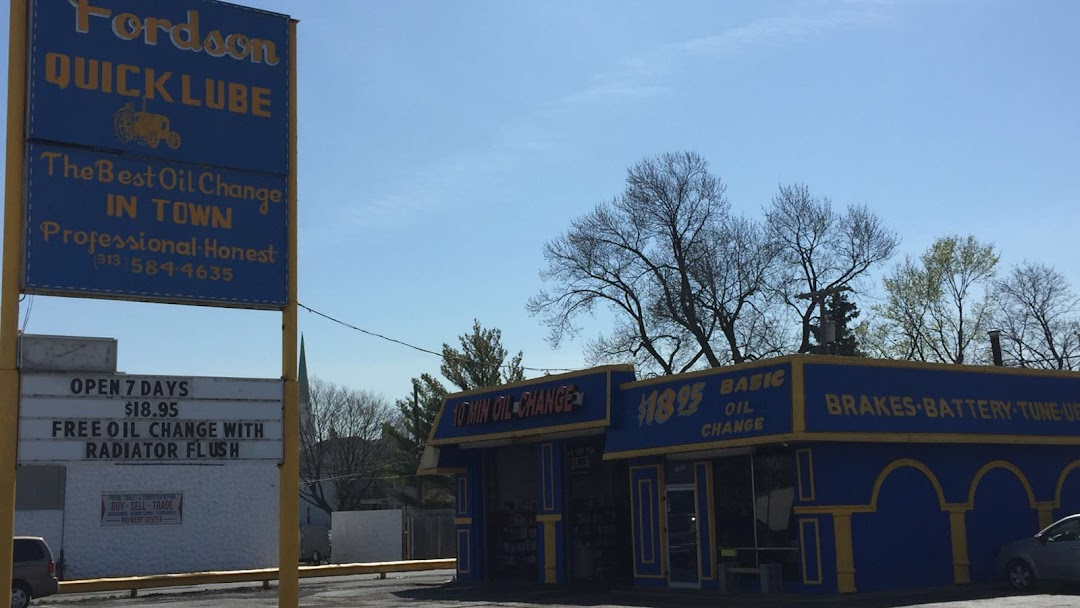 Oil Change Near Me Open Sunday >> Fordson Quick Lube Oil Change Service In Dearborn