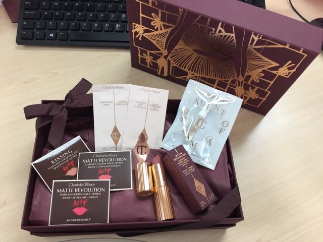 Sam Speaks Charlotte Tilbury Giftbox