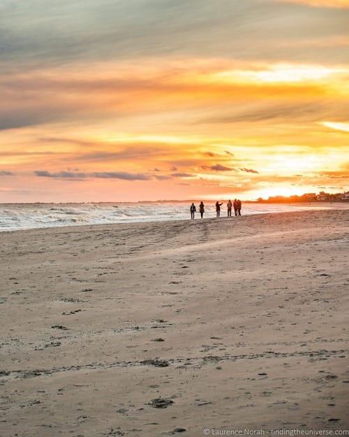 Sunset Folly Beach Charleston 2