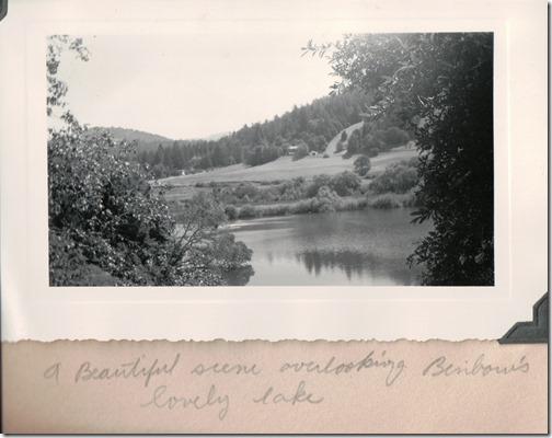 Lake at Benbow