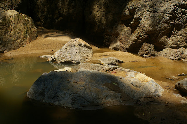 Cascade de Mandian (900 m), Xichuangbanna (Yunnan), 25 août 2010. Photo : J.-M. Gayman