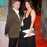 OIC - ENTSIMAGES.COM -  Noel Gallagher and Sara MacDonald at the EE British Academy Film Awards (BAFTAS) in London 8th February 2015 Photo Mobis Photos/OIC 0203 174 1069