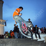 Banks Session & 180 Hop High Contest on Fatahillah, North Jakarta